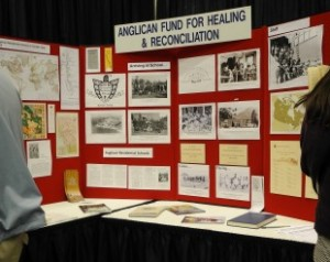 TRC Anglican Church Archives Display 2