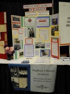 TRC Anglican Church Archives Display