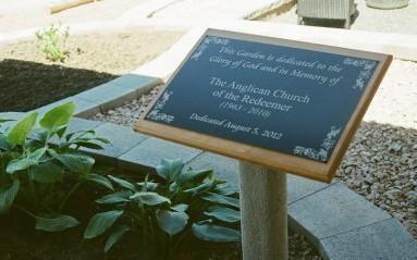 Church of St Paul garden sign