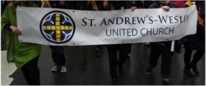 St Andrew's-Wesley Banner