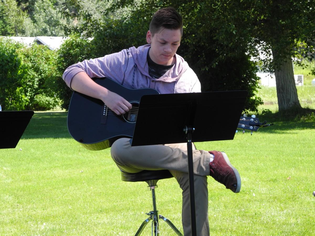Ben's debut performance