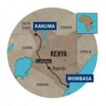 south sudan map for kakuma