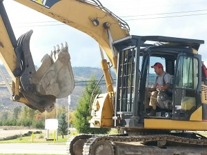 Bringing in the heavy duty equipment