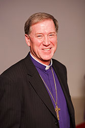 Archbishop Fred Hiltz, Primate of the Anglican Church of Canada Credit: Michael Hudson for General Synod Communications