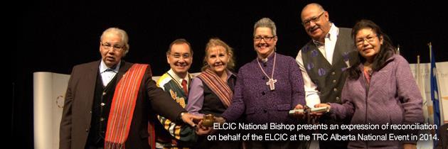 ELCIC National Bishop presents expression of reconciliation