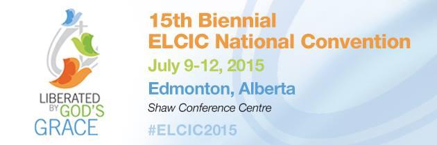 ELCIC 2015 Convention banner