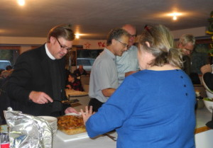 food line - Brian, Ken, Lorne, Susan, Bruce