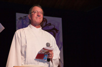 Keith Simmonds, President of BC Conference of the United Church of Canada
