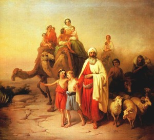 Image: Abraham's Journey from Ur to Canaan (Genesis 12) by József Molnár Found on Wikipedia https://en.wikipedia.org/wiki/File:Molnár_Ábrahám_kiköltözése_1850.jpg