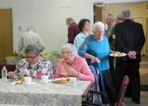 NTESM Norma, Elsie, food lineup