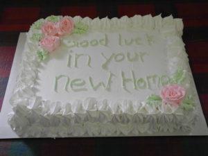 Cake for Betty Uppenborn