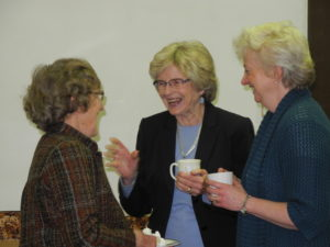 Betty, Lynette, and Laura-Ann sharing a laugh